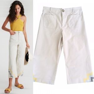 Maeve by Anthropologie Hallee High Rise Crop   14